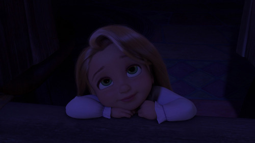 What is the name of the actress that voices Child Rapunzel?