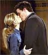 "Who spots Angel and Buffy kissing in ""End of Days"", the second to last final episode of Buffy The Vampire Slayer?"