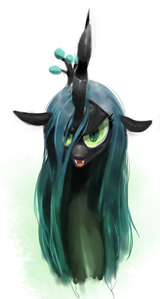 T/F: Chrysalis' true name was mentioned in the show.