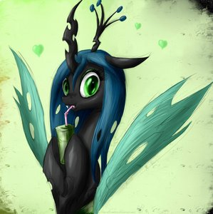 T/F: The true name of Chrysalis was mentioned in the show.
