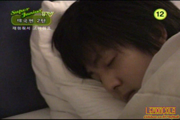 when KiBum was in band did Leeteuk ever get difficulty waking up him in morning???