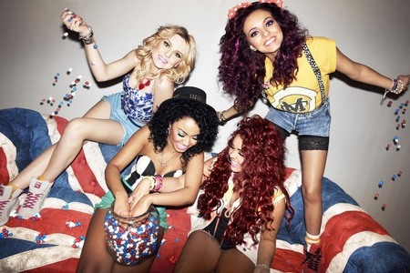 Who did Little Mix battle with in the final round of X Factor?