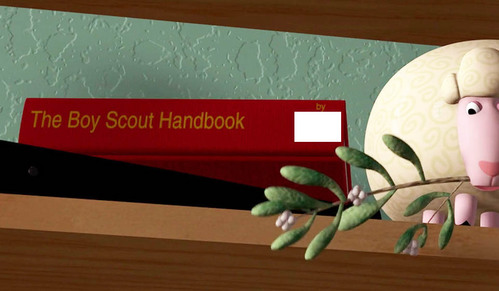 """TOY STORY: Who wrote """"The Boy Scout Handbook""""?"""