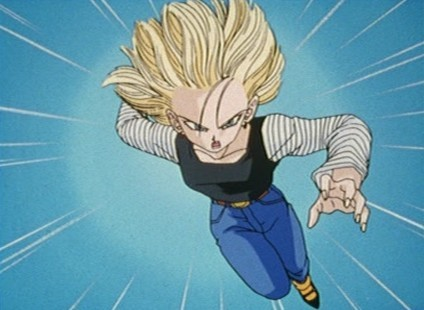 In how many movies Android 18 appears?