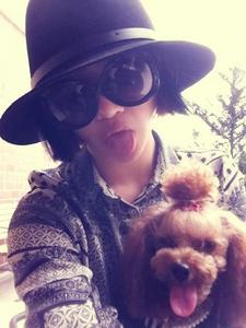 What's the name of Minzy's Dog?
