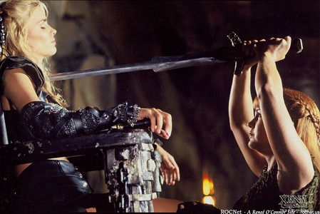Xena: Gabrielle with...?