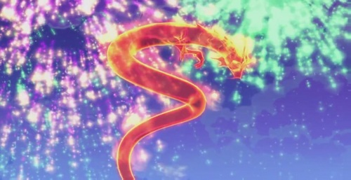 Who (formerly) posses the Dragon Flame, beside Bloom?