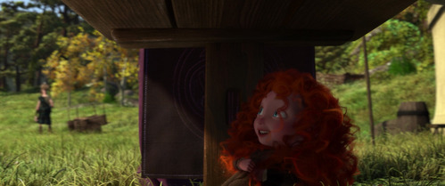 Who voiced little Merida?