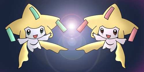 Which Jirachi is the shiny form?