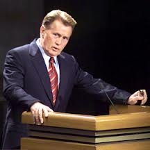 Which member of his family introduced President Bartlet for his reelection camapign?