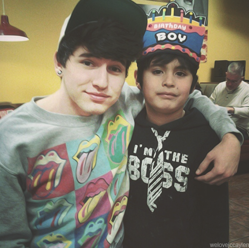 What is Jc's little brother's name?