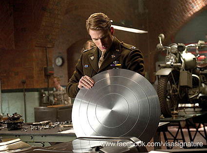 What substance is Captain America's shield made out of?