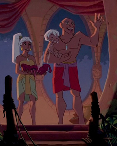 Did any of the natives in Atlantis read Atlantean?