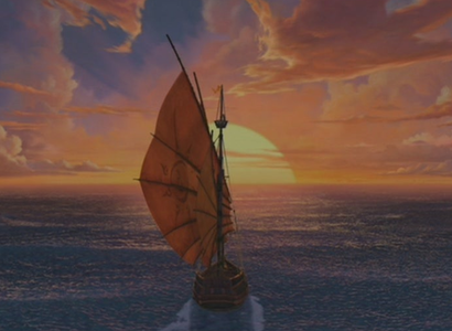 What is the name of Sinbad's ship?
