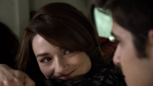 What did Allison say to Scott in this scene when he asked what she was looking at?