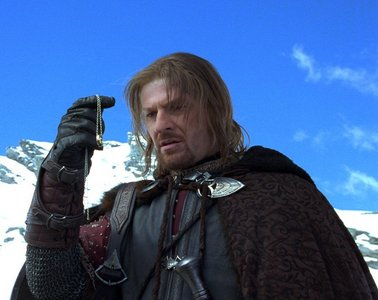 """Who said, """"Boromir!"""" in this picture?"""