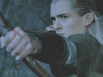 """Who said, """"Legolas!"""" when the Fellowship members are going to inside the mine."""