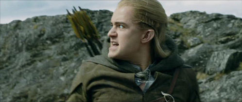 What did Legolas say in this picture?