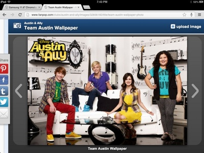 Why does austin love ally