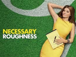 "Which actor that played one of Buffy's boyfriends appears on the show ""Necessary Roughness?"""