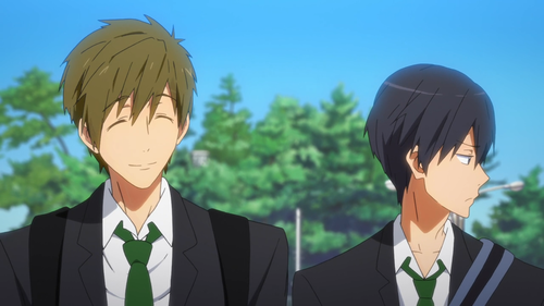 From how long Haruka and Makoto know each other?