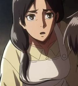 What is the status of Eren's mother?