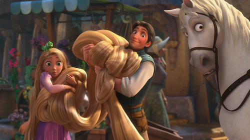How long is Rapunzel's hair?