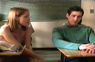 Who told Xander and Anya about Spike and Buffy's relationship?