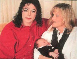 This photograph of Michael and his family was taken back in 1997