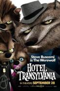 What is the only female cub called in hotel Transylvania belonging to Wanda and Wayne the wolf?