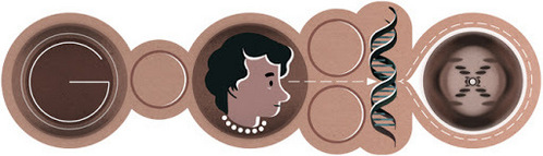 This picture celebrates Rosalind Franklin's _____ Birthday.