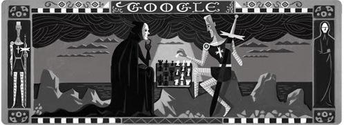This picture celebrates Ingmar Bergman's _____ Birthday.