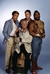 The first regular episode of The A-Team, aired after Super Bowl XVII on which date?