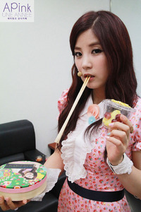 What is Chorong's favourite meals?