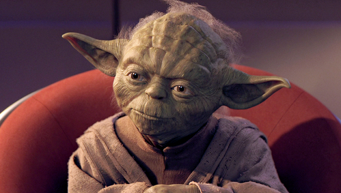Who was Yoda's master?