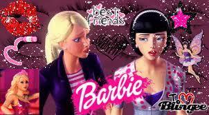 In what Barbie movie did Barbie n Raquel became friends?