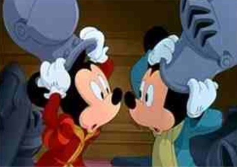 Before which animated disney classic was the Mickey ratón short, The Prince and the Pauper, shown when released in theaters?