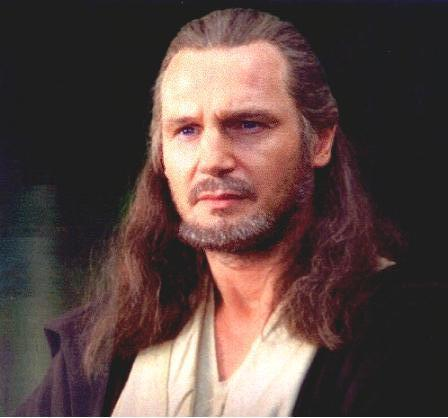 Who was Qui-Gon Jinn's master?