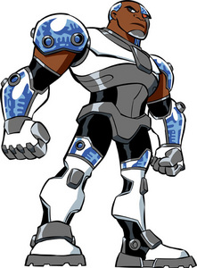 What is Cyborg's real name?