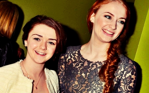 T/F: Sophie and Maisie already knew each other before their Game of Thrones auditions.