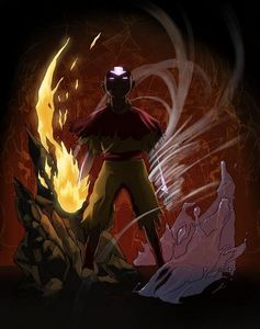 When does Aang become an Avatar ?