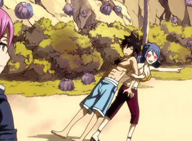 Juvia said that she also wants to be alone with Gray after she heard that  _______ went somewhere alone.