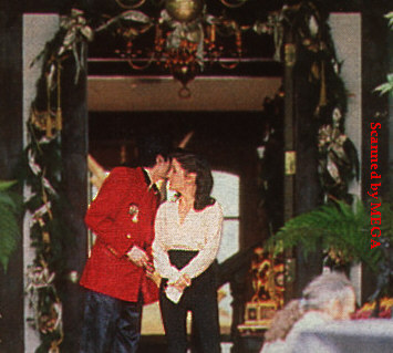 Michael and Lisa Marie hosted a 2-day Children's Summitt at Neverland back in 1995