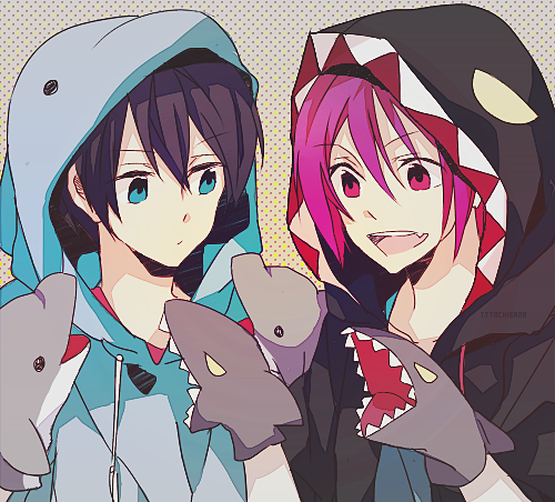 what do you thimk about rin and haruka 
