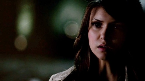 T/F:In this scene Elena says to Stefan what she was meaning to tell him.