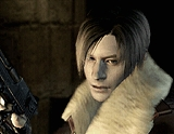 Who is the actor who was going to act Leon S Kennedy before the hero who did ?