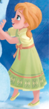 Who voiced young Anna?