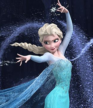 Who voiced Elsa?