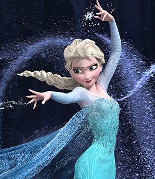 Who voiced Elsa?