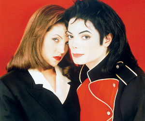 What year were Michael and Lisa Marie Presley divorced